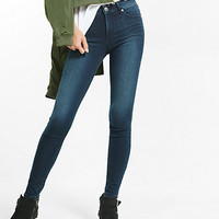 super soft high waisted jean legging