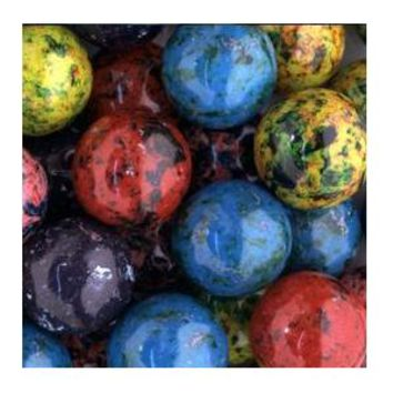 """Blots Berry 1"""" Jawbreakers with Candy Center"""