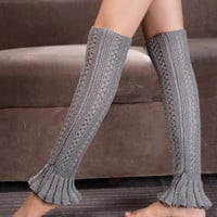 Cupshe Awesome Love Knitting Boot Cuffs