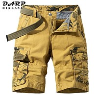 Camouflage Tactical Cargo Shorts