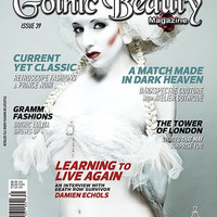 Gothic Beauty Magazine Issue 39 Music interviews with Angelspit, The Dreaming and 45 Grave