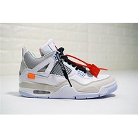 OFF-WHITE x Air Jordan 4 930115-001