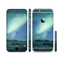 The Glowing Northern Lights Sectioned Skin Series for the Apple iPhone 6s