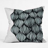 Gabi Waves Throw Pillow