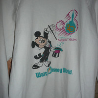 Disney world Mickey Mouse 20 magical years sweater vintage made in U.S.A. large