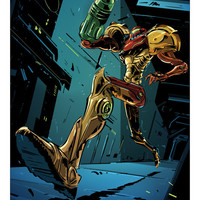 SUPER METROID by Tin Salamunic