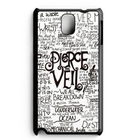 Pierce The Veil Song Lyric Samsung Galaxy Note 3 Case