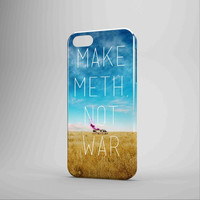 Breaking Bad Make Meth Not War iPhone Case Galaxy Case 3D Case