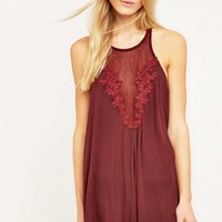 Out From Under Dolly Blackberry Applique Playsuit - Urban Outfitters