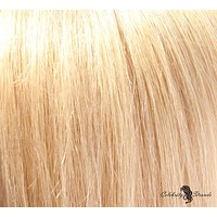 """18"""" Clip In Remy Hair Extensions: Golden Blonde No. 24"""
