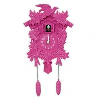 Wake Up Frankie - Cuckoo Clock : Teen Bedding, Pink Bedding, Dorm Bedding, Teen Comforters