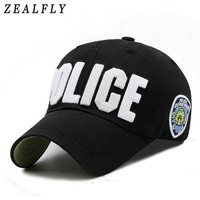 Trendy Winter Jacket Adult And Child Police Baseball Cap 100% Cotton Embroidery Letter Women Cap Outdoor Casual Girl Boys Snapback Hat AT_92_12