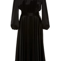 Silk Black Dress | Moda Operandi