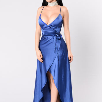 Fantasy Queen Dress - Midnight Blue