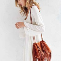Ecote Fringe Bucket Bag