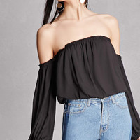 Lush Off-the-Shoulder Top