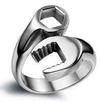 Stainless Steel Combination Wrench Ring