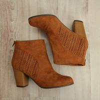 Somewhere In Soho Cutout Booties