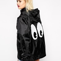 Alice Takes A Trip Festival Mac With Cartoon Eyes Back Detail at asos.com