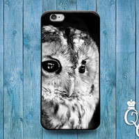 iPhone 4 4s 5 5s 5c 6 6s plus + iPod Touch 4th 5th 6th Generation Cute Custom Beautiful Black White Snow Owl Bird Phone Cover Winter Case