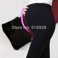 Velvet Winter Maternity Leggings Pants Clothes For Pregnant Women Warm Knitted High Waist Suspender Pregnancy Tights Trousers