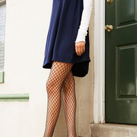 Free People Libby Fishnet Tight