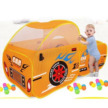 Foldable Car Model Ocean Ball Pool Pit Play Tent Toy Kids Child Outdoor Garden Game Play House Cute Large Play Tents for Kids