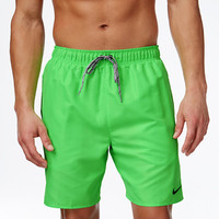 Nike Performance Quick Dry Solid Swim Trunks - Swimwear - Men - Macy's