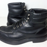 Red Wing® 8133 Classic Moc Frankfurter London Boot Black Leather Work boots Men's Size 9
