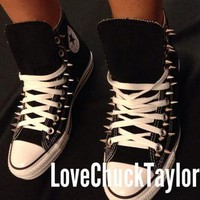 SALE!!! Custom Spiked Converse Chuck Taylor All Stars