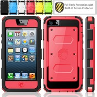 Armorbox Dual Layer Hybrid Protective Case for iPhone 5C by i-Blason