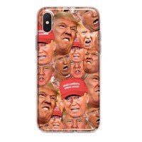 NEW TRUMP FACES CUSTOM IPHONE CASE