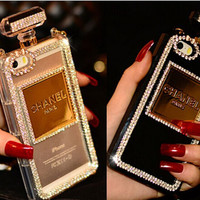 Diamond perfume bottles case iphone 6 case iphone 6 plus case iphone 5 case iphone 5s case samsung galaxy note4 case s3 s4 s5 note2 note3