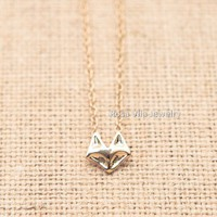 Dainty Fox Necklace
