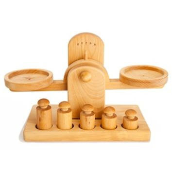 Wooden Scale