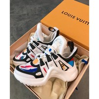 Louis Vuitton Lv Archlight Sneaker White/ Colourful - Best Online Sale