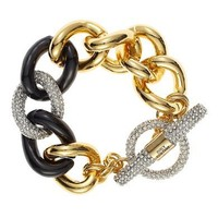 Juicy Couture   Chunky Link Pave Bracelet