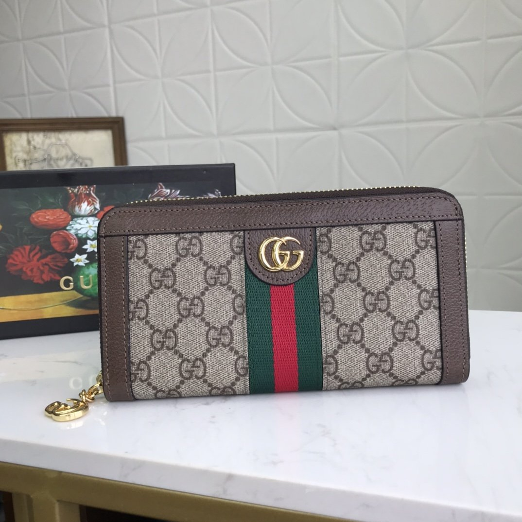 Image of Gucci Fashion Women and Men Wallet Purse Moneybag