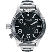 Nixon The 51-30 Tide Watch Silver/Black One Size For Men 14180210001