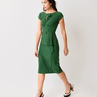 Stop Staring! Green Timeless Fitted Wiggle Dress