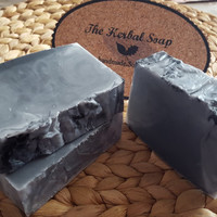 Activated Charcoal Soap, Handmade Soap,Natural Homemade soap, Scented Soap, Melt and Pour Soap,Goat's Milk Soap