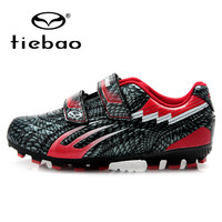 TIEBAO Professional Outdoor Soccer Shoes Children Kids Teenagers Football Cleats Boys irls H & A Sole Training Football Boots