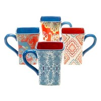 Tracy Porter For Poetic Wanderlust 'French Meadows' Mugs (Set of 4)