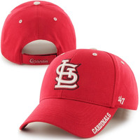 St. Louis Cardinals '47 Brand Frost Structured Adjustable Hat – Red