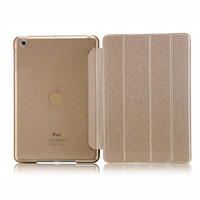 Ultra Thin Silk Magnetic PU Leather Design Smart Case For iPad 4 3 2 &  iPad Mini 3 2 1 Retina Tablet  Slim Cover Stand A0506