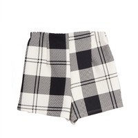Graphic Plaid Shorts - Large
