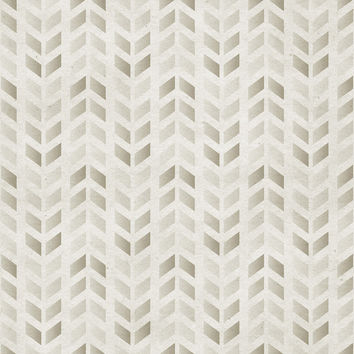 Stamped Chevron Removable Wallpaper