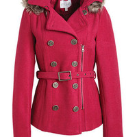 Belted Wool Coat With Thinsulate™