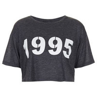 1995 Crop Tee - The Road to Coachella  - New In