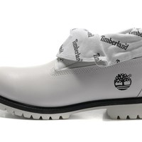 Fashion Hiking Boots For Timberland Men's High 26026 white